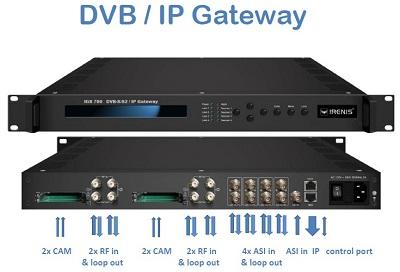 IRENIS IGS700 DVB/IP IPTV Gateway